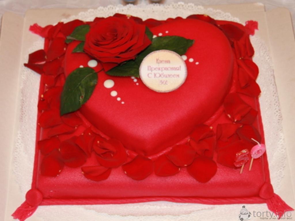 Тортик на юбилей мамочки, на 50 лет) .