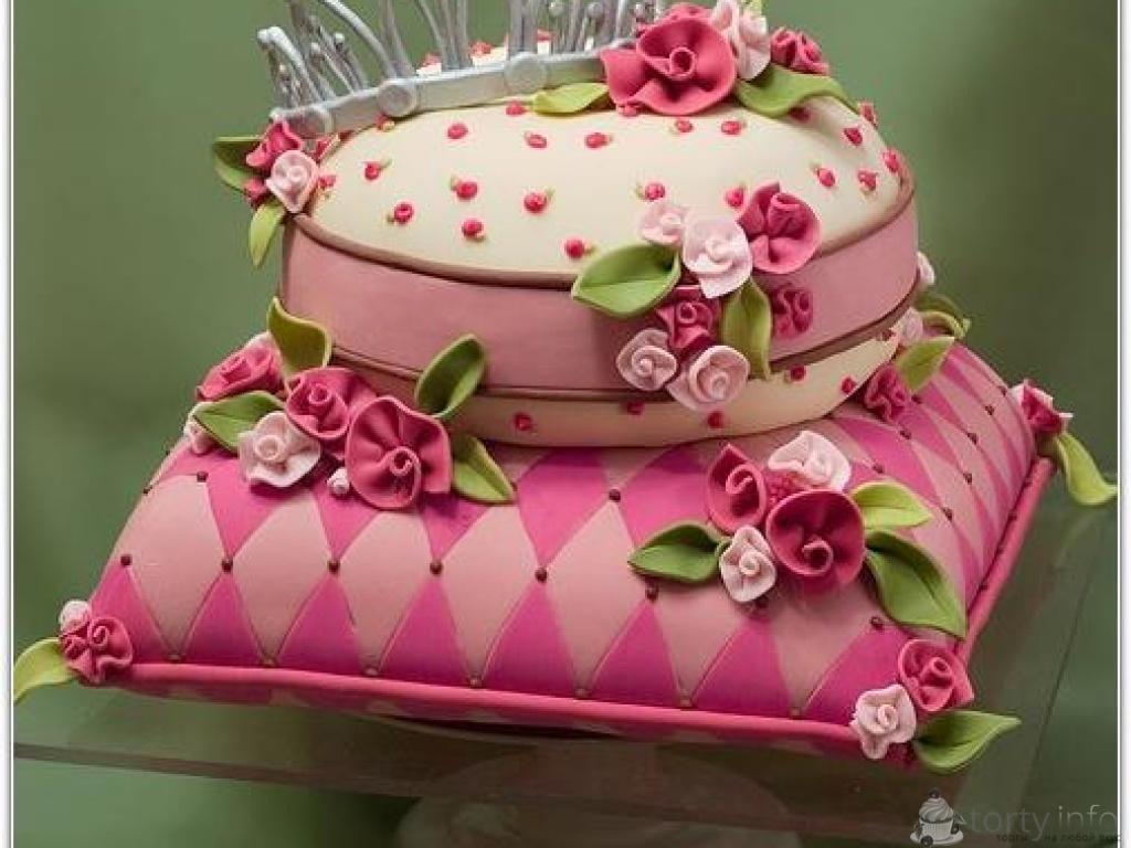 Как сделать красивый торт видео