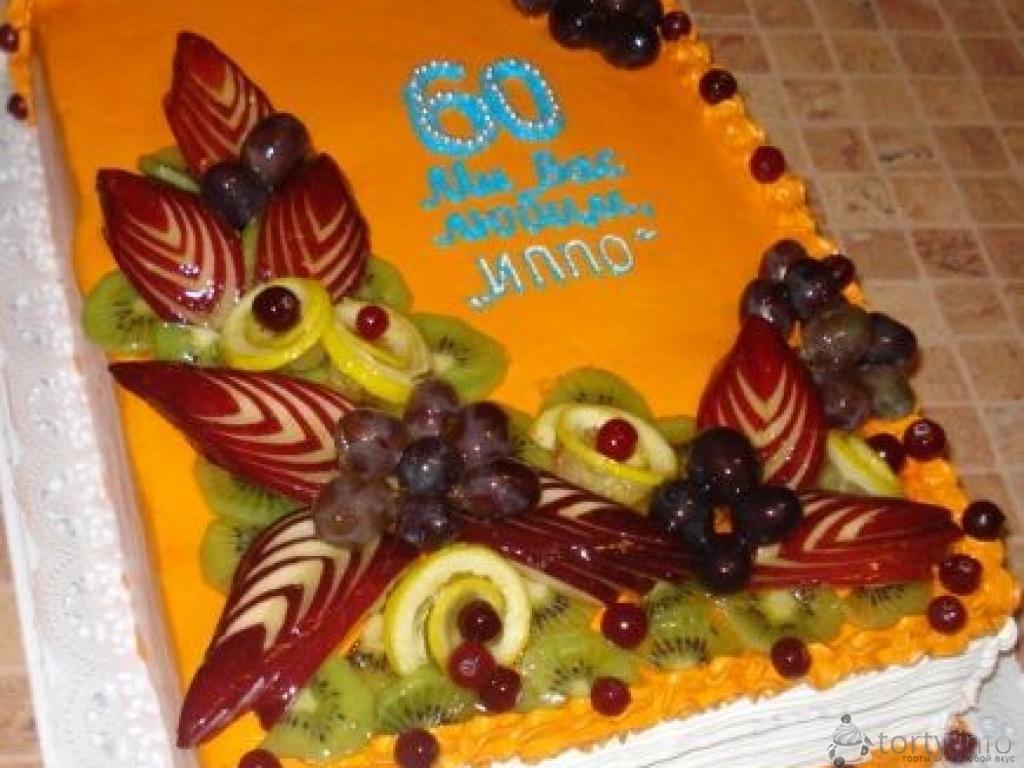 Торт на юбилей в домашних условиях фото 899