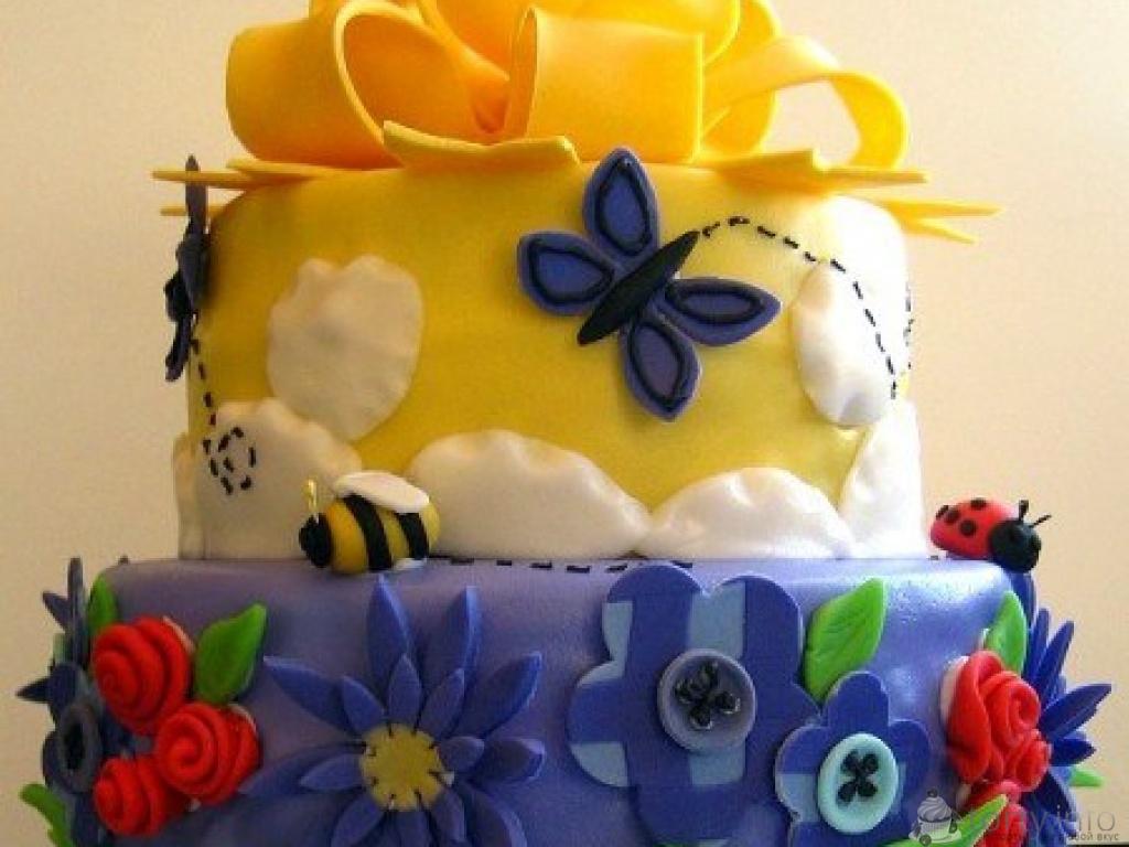 Украшение торта своими руками фото