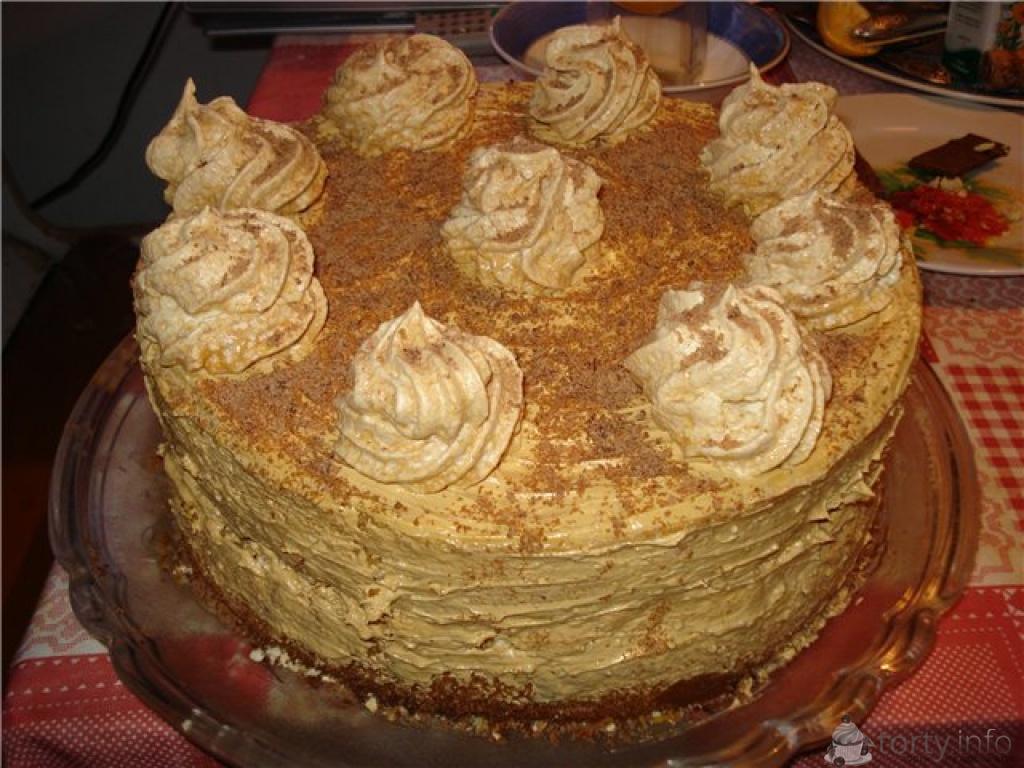 Рецепты тортов своими руками с фото