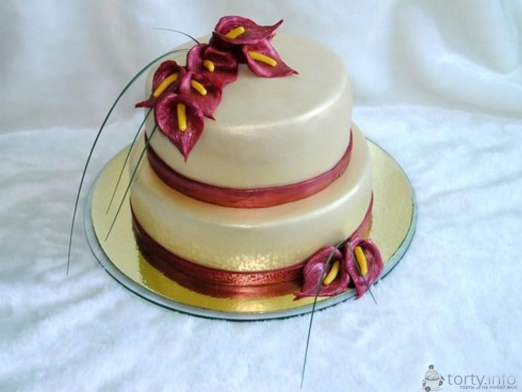 Фото красивых желейных тортов