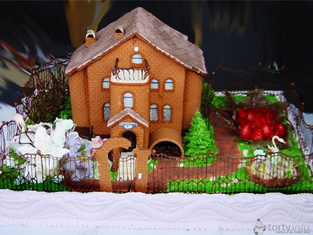 Торты на новоселье загородного дома фото